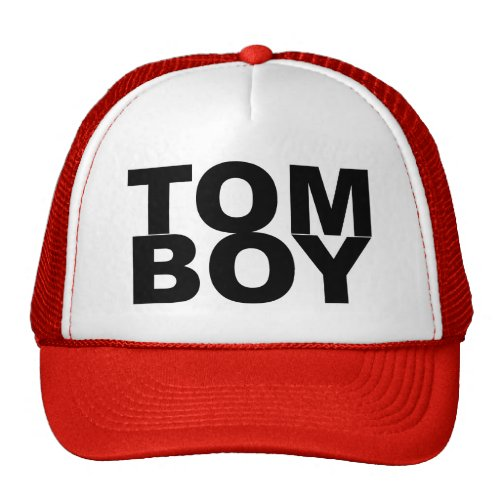 TOM BOY. TRUCKER HAT