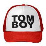 TOM BOY. TRUCKER HATS