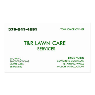 TOM BUSINESS CARD TEMPLATE