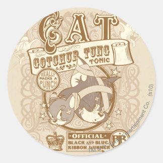 Tom Cat Gotchur Tung Tonic Classic Round Sticker