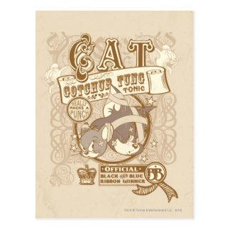 Tom Cat Gotchur Tung Tonic Postcard