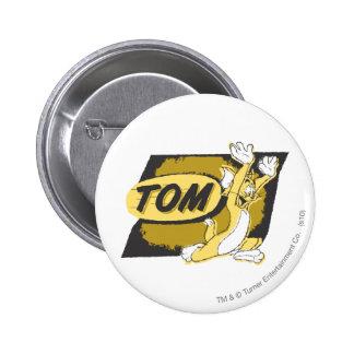 Tom Chasing Pinback Button
