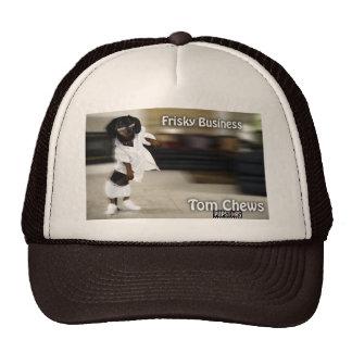 Tom Chews Trucker Hat