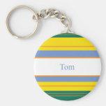 Tom Classic Stripes Keychain