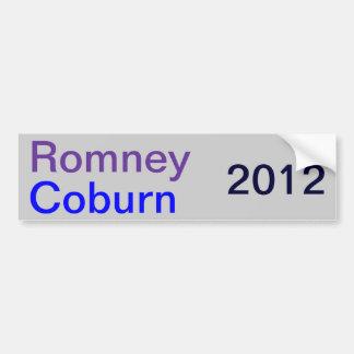 Tom Coburn - True Blue Bumper Sticker