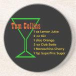 Tom Collins Coasters