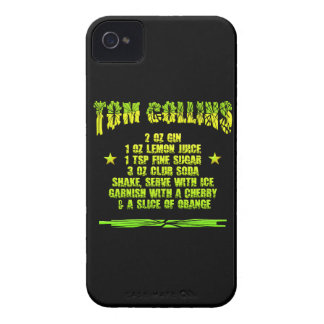 Tom Collins customizable iPhone 4 Case-Mate