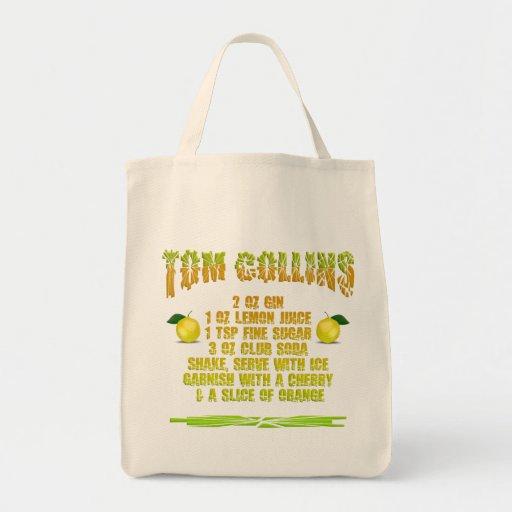 Tom Collins empaqueta - elija el estilo y el color Bolsa De Mano