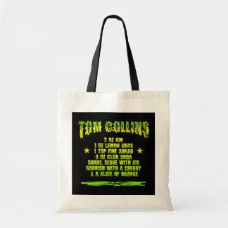 Tom Collins empaqueta - elija el estilo y el color Bolsa