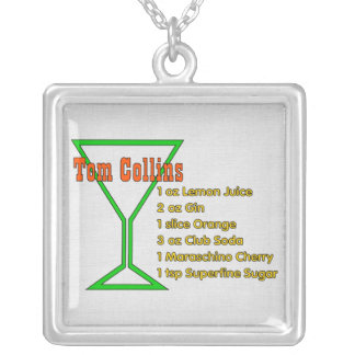 Tom Collins Silver Plated Necklace