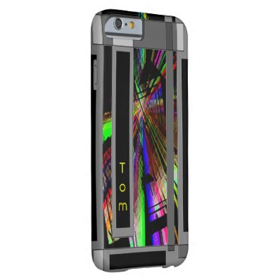 Tom Complex Structure iPhone cover