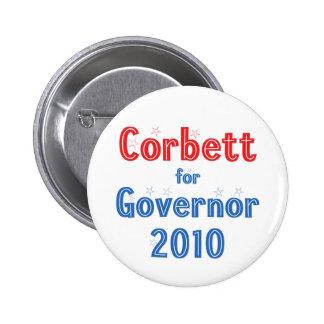 Tom Corbett for Governor 2010 Star Design Pin