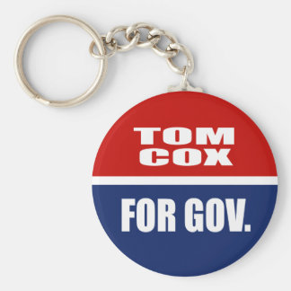 TOM COX FOR SENATE KEYCHAINS