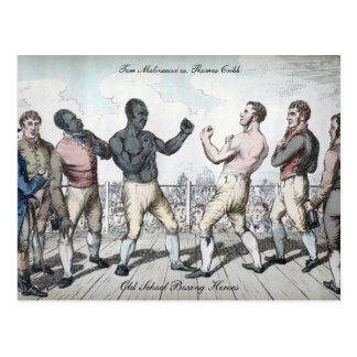 Tom Cribb vs. Thomas Molineaux Postcard