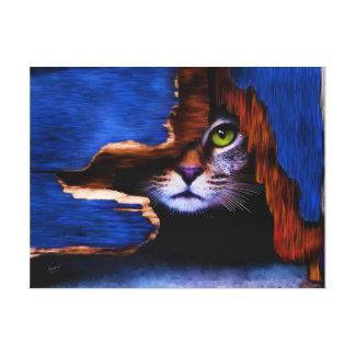 Tom de mirada furtiva impresión en lienzo
