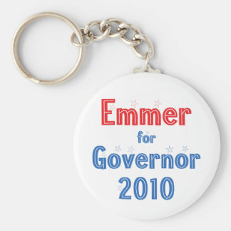 Tom Emmer for Governor 2010 Star Design Keychain