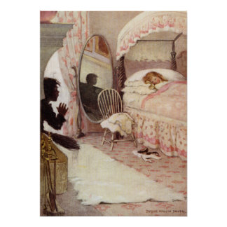 Tom Finds Ellie's Room by Jessie Willcox Smith Poster