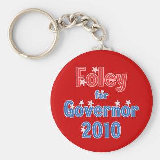 Tom Foley for Governor 2010 Star Design Keychain