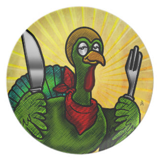Tom Foolery (Thanksgiving Party Plate)