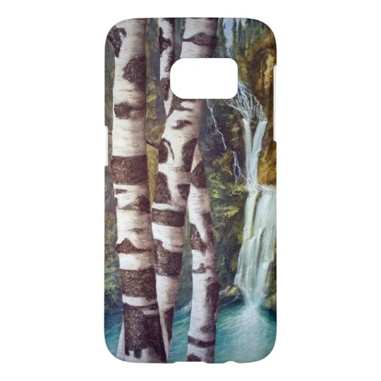 "Tom Hanson Arts cell phone case  ""Aspen Falls"""
