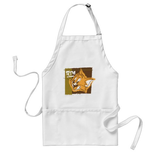 Tom Happy Face Adult Apron