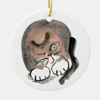 Tom has Mastered a Wink Ceramic Ornament