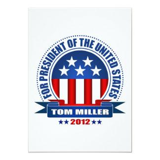 Tom Miller Comunicado Personal