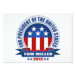 Tom Miller Comunicado Personalizado