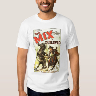Tom Mix 1929 vintage movie poster T-shirt