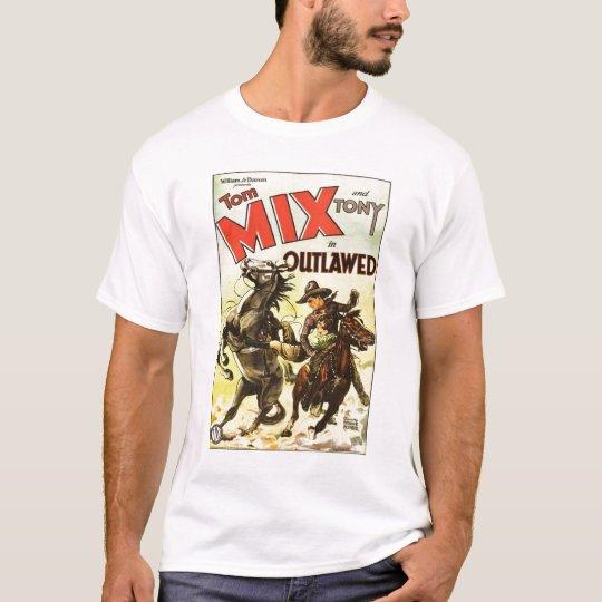 Tom Mix 1929 vintage movie poster T-shirt