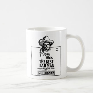 Tom Mix BEST BAD MAN 1926 Coffee Mug