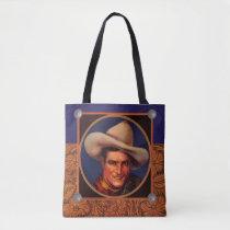 Tom Mix Cowboy Tote Bag
