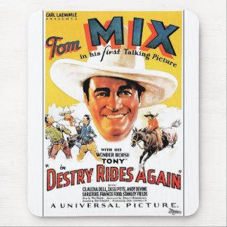 Tom Mix in Destry Rides Again Mouse Pad