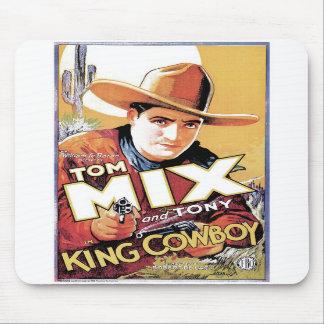Tom Mix - King Cowboy Mousepad