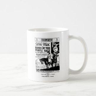 Tom Mix Riders of Purple Sage Western ad 1925 Mug
