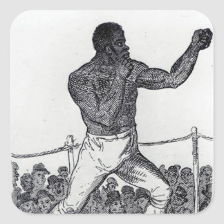 Tom Molineux, 1812 Square Sticker