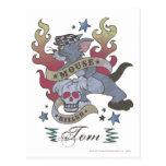 Tom Mouse Killer Tattoo 2 Postcard