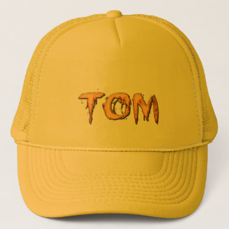 TOM Name Branded Personalised Gift Hat