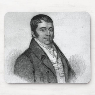 Tom Oliver, engraved by Percy Roberts Mouse Pad