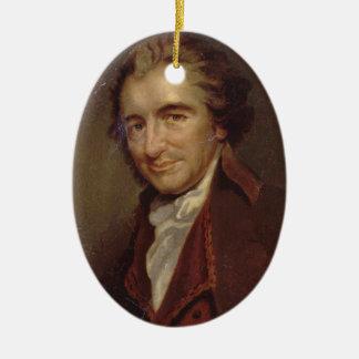 Tom Paine Ceramic Ornament