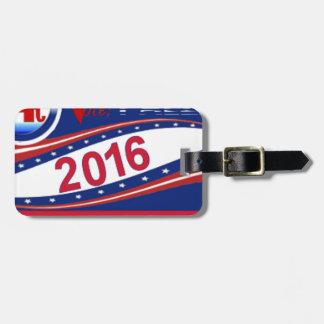 Tom Palzer for U.S. Senate 2016 Bag Tag
