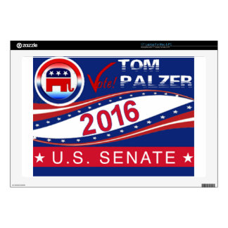 Tom Palzer for U.S. Senate 2016 Laptop Skin