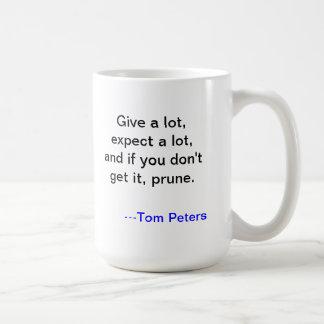 Tom Peters Motivational Mug