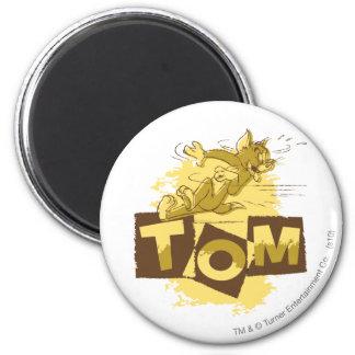 Tom que desliza la parada imán redondo 5 cm