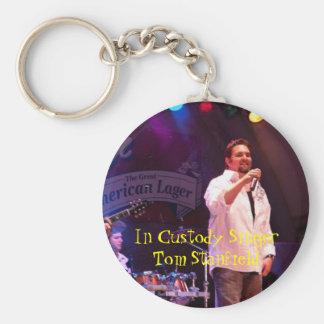 Tom S. In Custody Key Chain