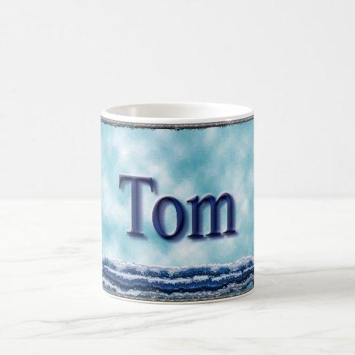 Tom Sailboat Coffee Mugs