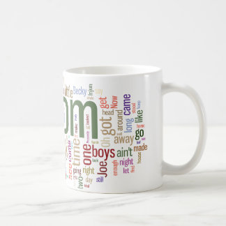 Tom Sawyer Word Cloud Coffee Mug