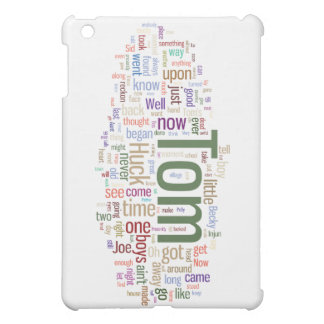 Tom Sawyer Word Cloud Cover For The iPad Mini