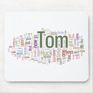 Tom Sawyer Word Cloud Mouse Pad