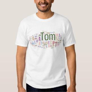 Tom Sawyer Word Cloud T Shirt